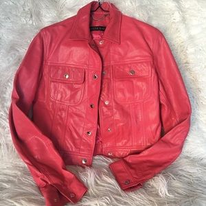 💎30% OFF💎 Ralph Lauren Leather Jacket
